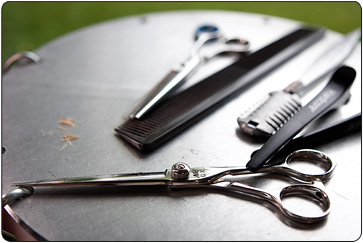 Tools of the trade - Matthew John Hair Salon